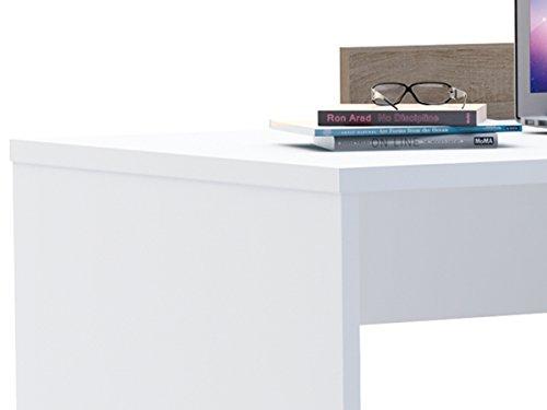 Eckschreibtisch platzsparender schreibtisch moderner for Platzsparender schreibtisch
